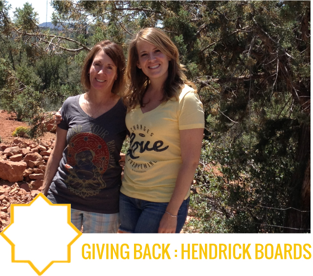 giving back hendrick boards