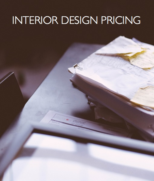 interior design pricing and fees photo: dttsp