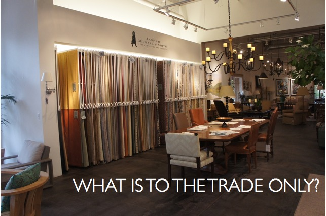 what is to the trade only? photo: CK