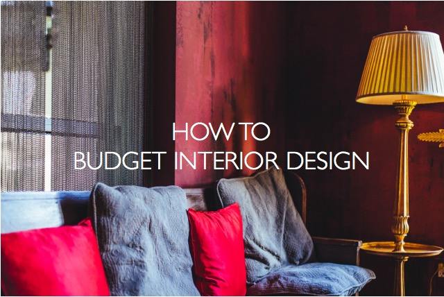 how to budget interior design photo credit: dttsp