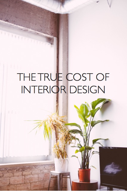 the true cost of interior design photo credit: dttsp