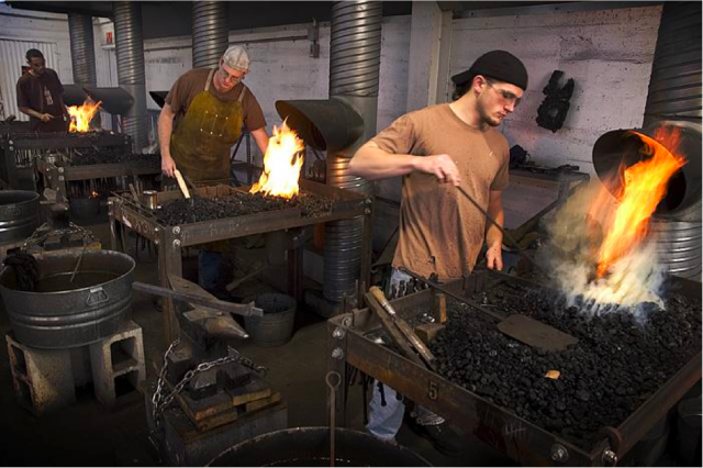 American College of Building Arts _ Forging