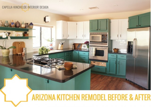 Kitchen Remodel Arizona Interesting Arizona Kitchen Remodel Before & After — Capella Kincheloe Decorating Design