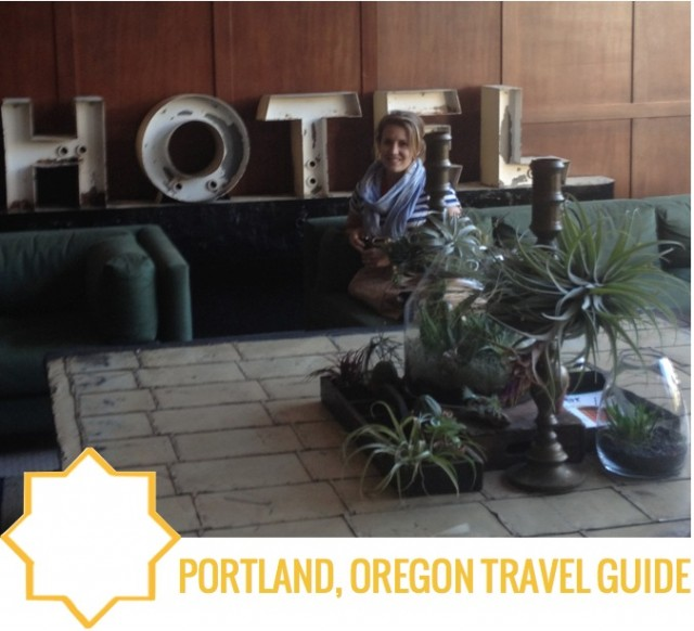 Portland Travel Guide by Capella Kincheloe