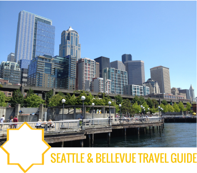Seattle and Bellevue Travel Guide by Capella Kincheloe