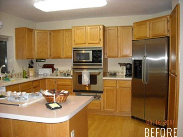 Arizona Kitchen Remodel Before by Capella Kincheloe