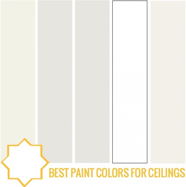 Best white ceiling paint color for Sherwin williams ceiling paint colors