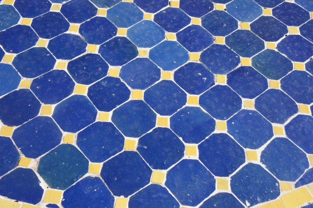 mosaic tile at La POsada by Capella Kincheloe
