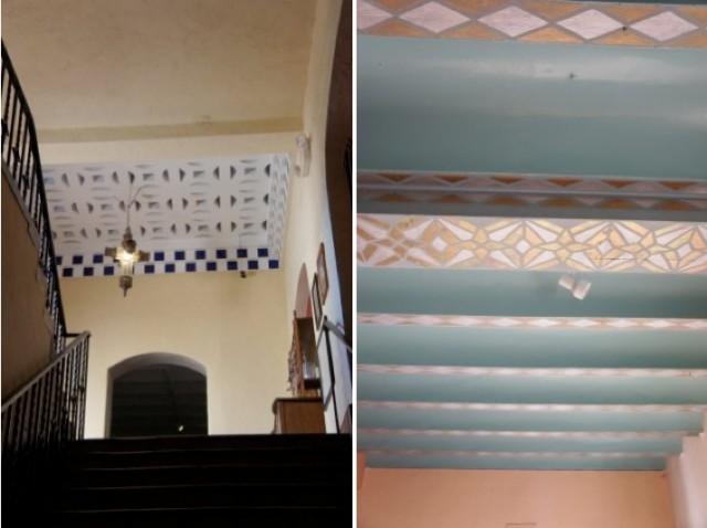 La Posada Ceiling Details by Phoenix interior Designer Capella Kincheloe