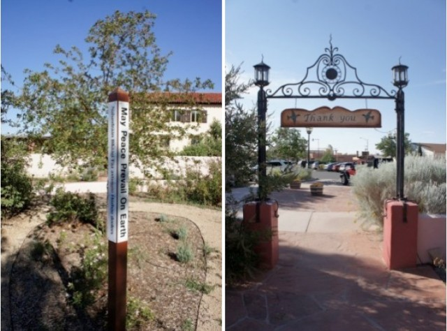 signs of La Posada by phoenix interior designer Capella Kincheloe