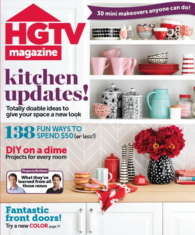 HGTV magazine Sept 2013