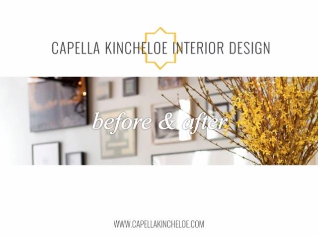 capella kincheloe interior design before & after video