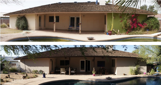 panoramic shots capella kincheloe exterior house painting