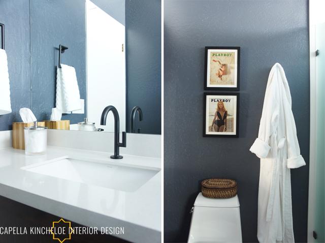 Paradise Valley Bachelor Bathroom By Capella Kincheloe Interior Design
