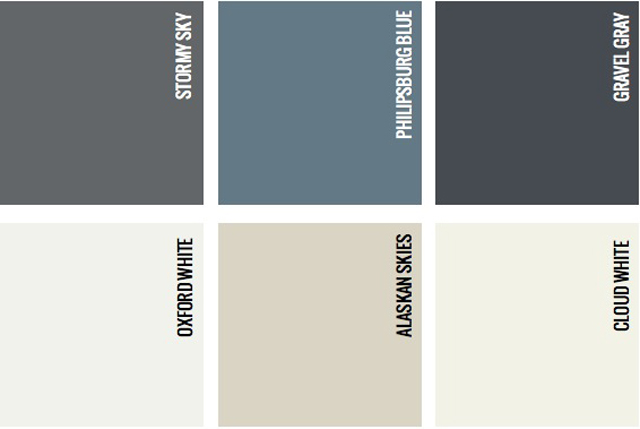 TLU Paint Colors