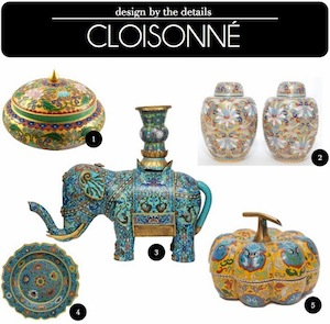Design by the Details Cloisonne by Capella Kincheloe