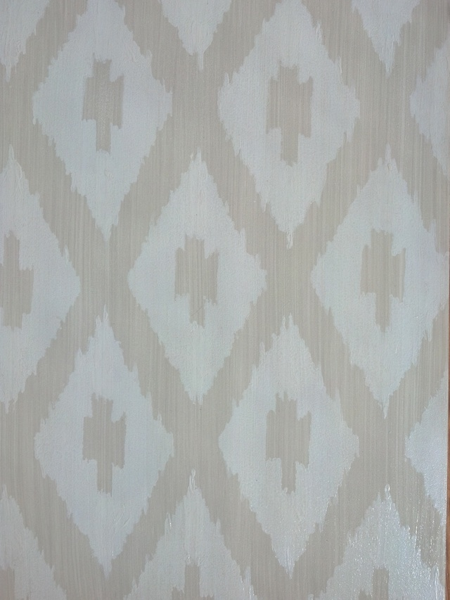 decorative stencil on capella kincheloe interior design
