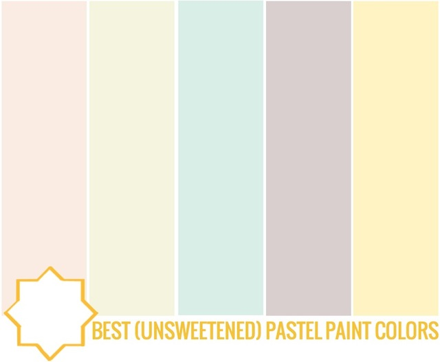 Best Pastel Paint Colors by Capella Kincheloe Interior Design PHoenix
