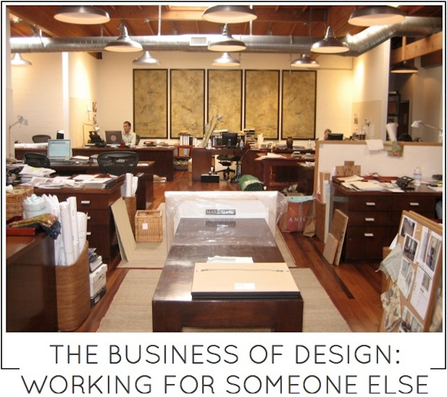 The business of design working for someone else by capella kincheloe interior design phoenix