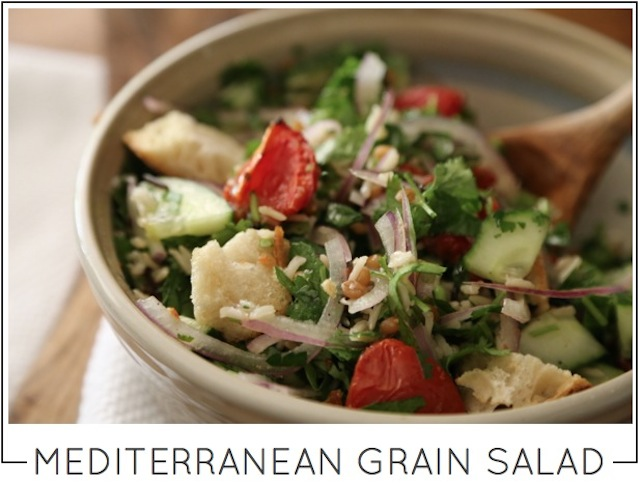mediterranean grain salad recipe by capella kincheloe interior design