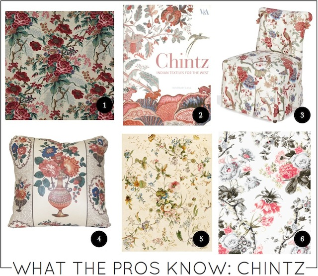 What the Pros Know chintz on capella kincheloe interior design phoenix