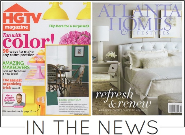 capella kincheloe interior design featured in hgtv magazine and in atlanta homes and lifestyles