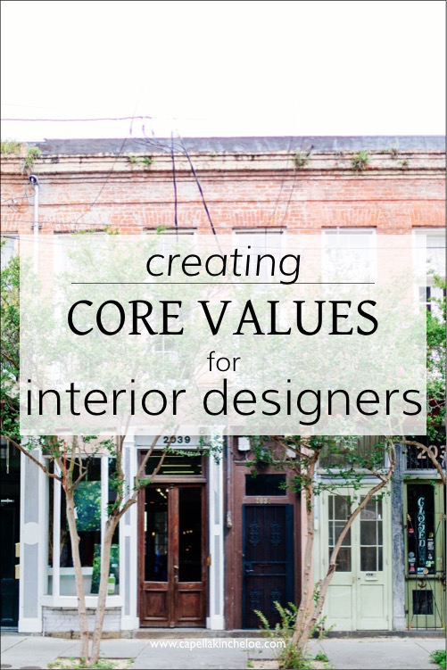 creating core values for interior design photo by dttsp via capella kincheloe business training