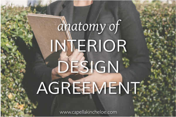 A Couple Of Years Ago I Wrote The Anatomy An Interior Design Agreement It Became One My Most Successful Posts Today Am Refreshing And