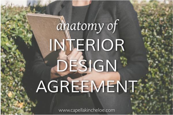 anatomy of interior design agreement 2