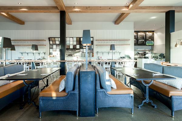 Amy Aswell Interior Design Cafe Bernando photo by Kat Alves