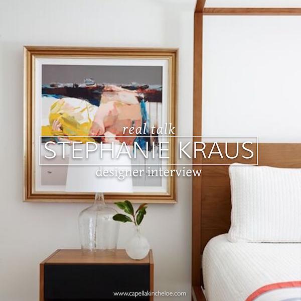 real talk Stephanie Kraus designer interview