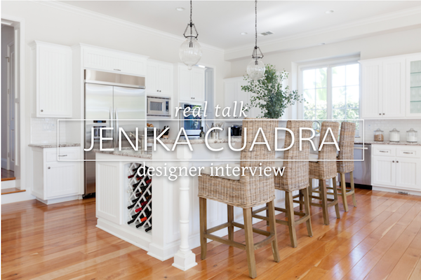 real designer interview Jenika Cuadra