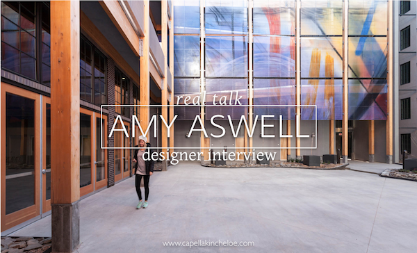 real talk Amy Aswell designer interview photo by Kat Alves
