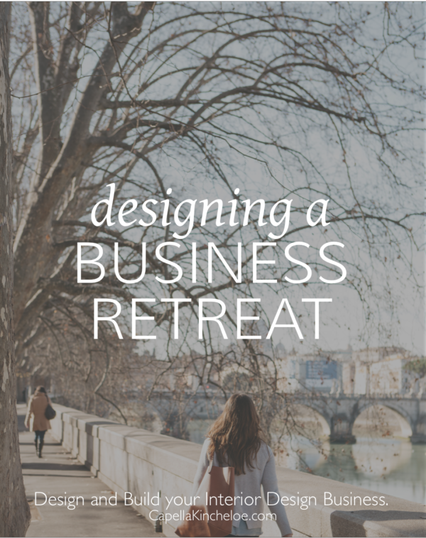 designing a business retreat capella kincheloe
