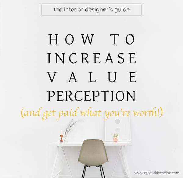 How To Increase Value Perception Capella Kincheloe