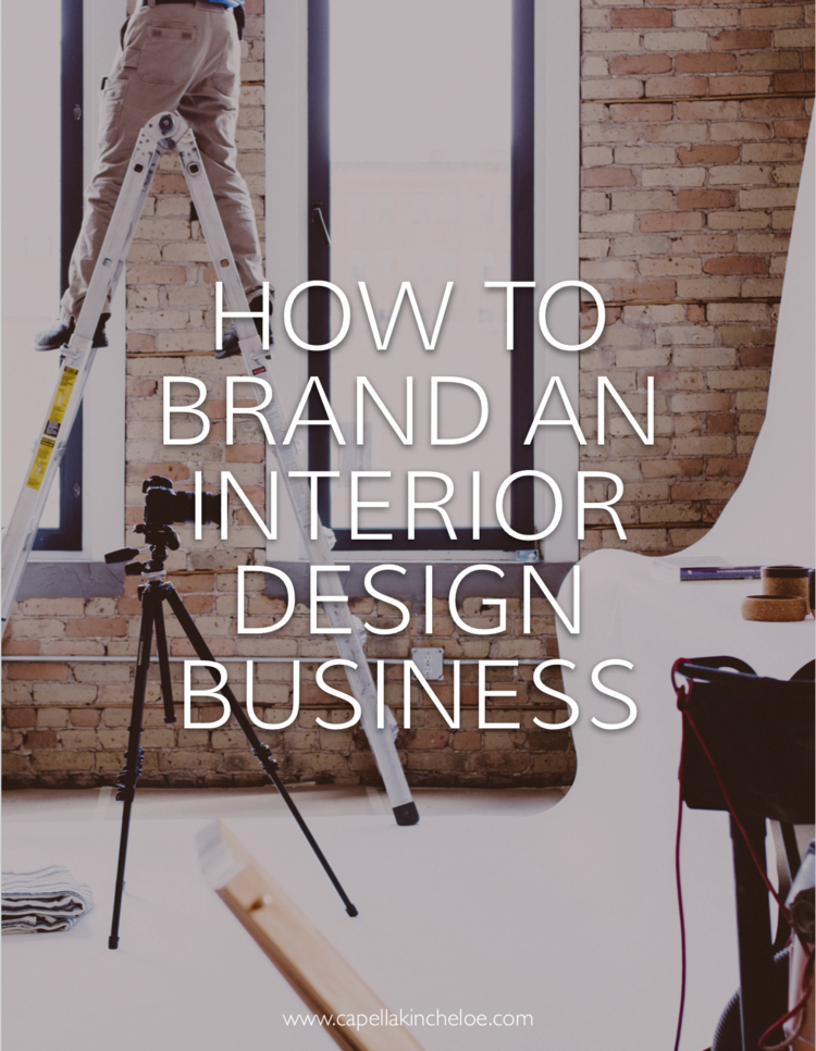 Raise Your Hand If You Started Interior Design Business Without Considering Branding When