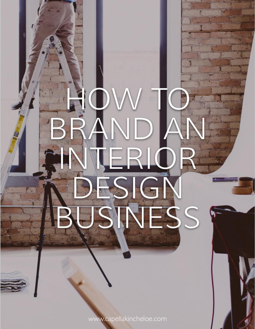 Branding for Interior Design Business — Capella Kincheloe