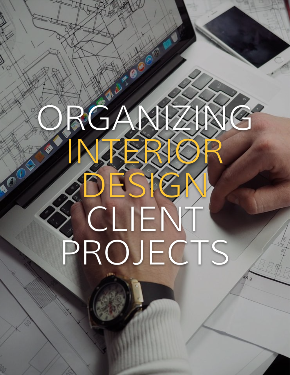 Keeping client paperwork organized can be one of the most important things in your interior design business.  Here is how a real interior designer keeps her interior design clients organized.