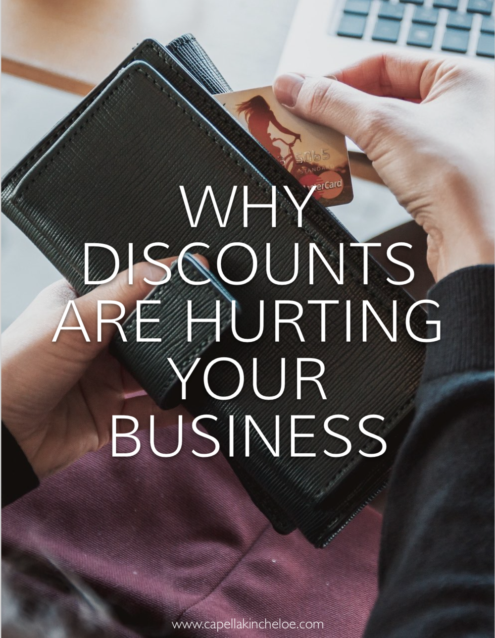 why discounts are hurting your business, the reasons that you should never ever undervalue and undercut yourself and other designers in the interior design industry