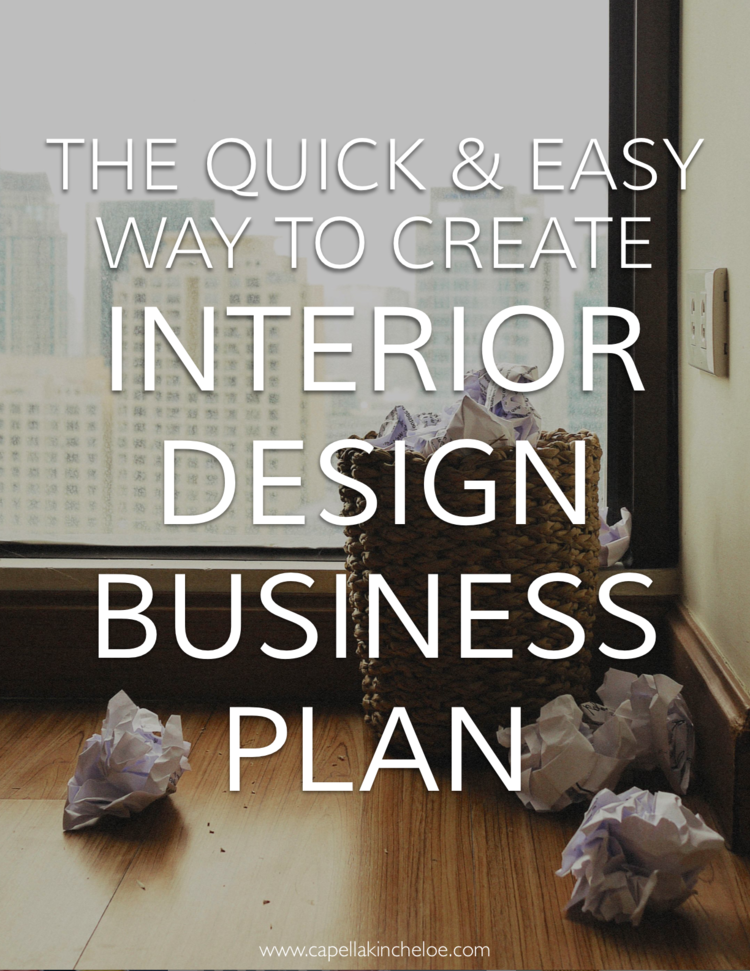 Interior Design Business Plans Dont Have To Be Boring Multi Page Ordeals