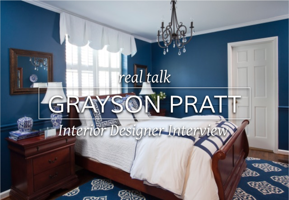 Interview with Atlanta interior designer Grayson Pratt about running an interior design business #interiordesignbusiness #atlantainteriordesigner #cktradesecrets #interiordesigninterview