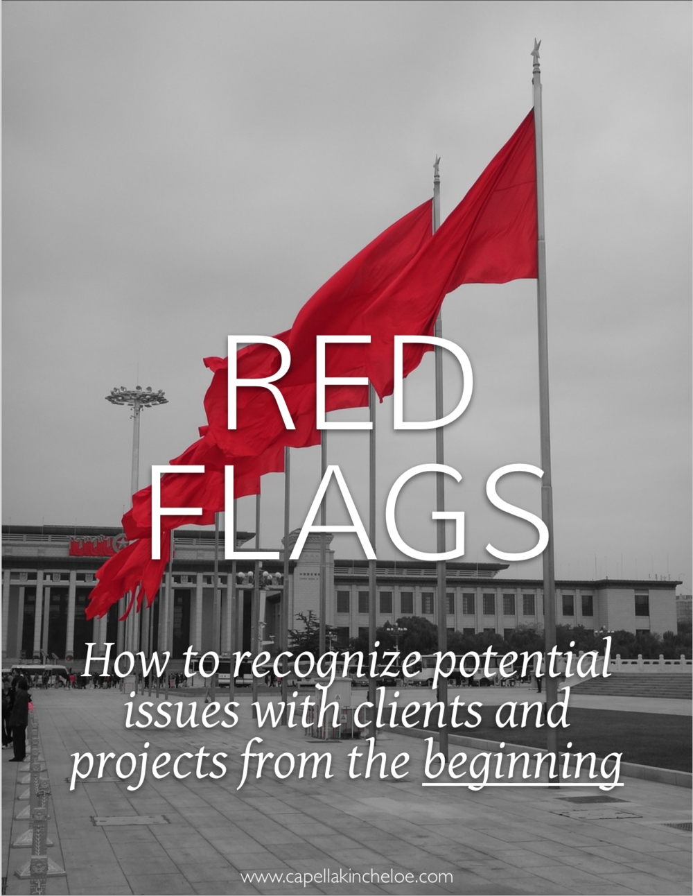 "There are certain ""red flags"" that usually present themselves at the very beginning of a project, these are the things that you want to look out for and can avoid costly problems and client issues down the road"