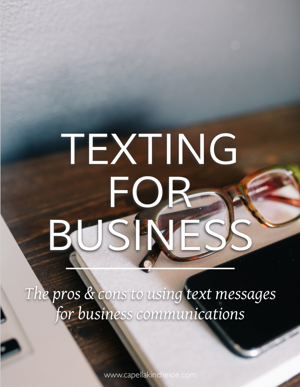 I don't use text messages for any business communications and here is why.  However, if this isn't and option I give the best practices for doing so.