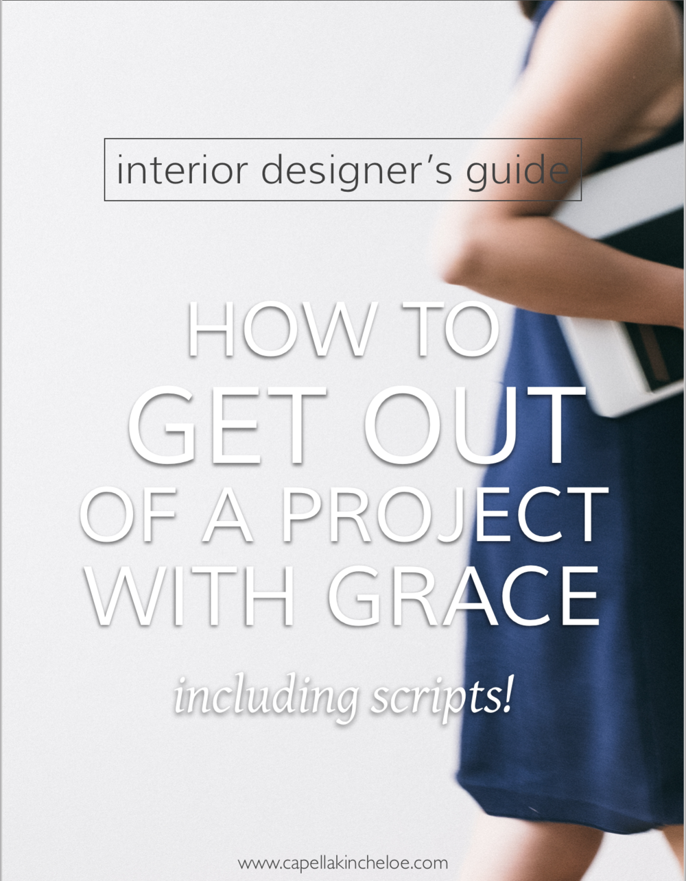 Sometimes you need to get out of a project.  In this article I tell you how to do so with grace and poise.