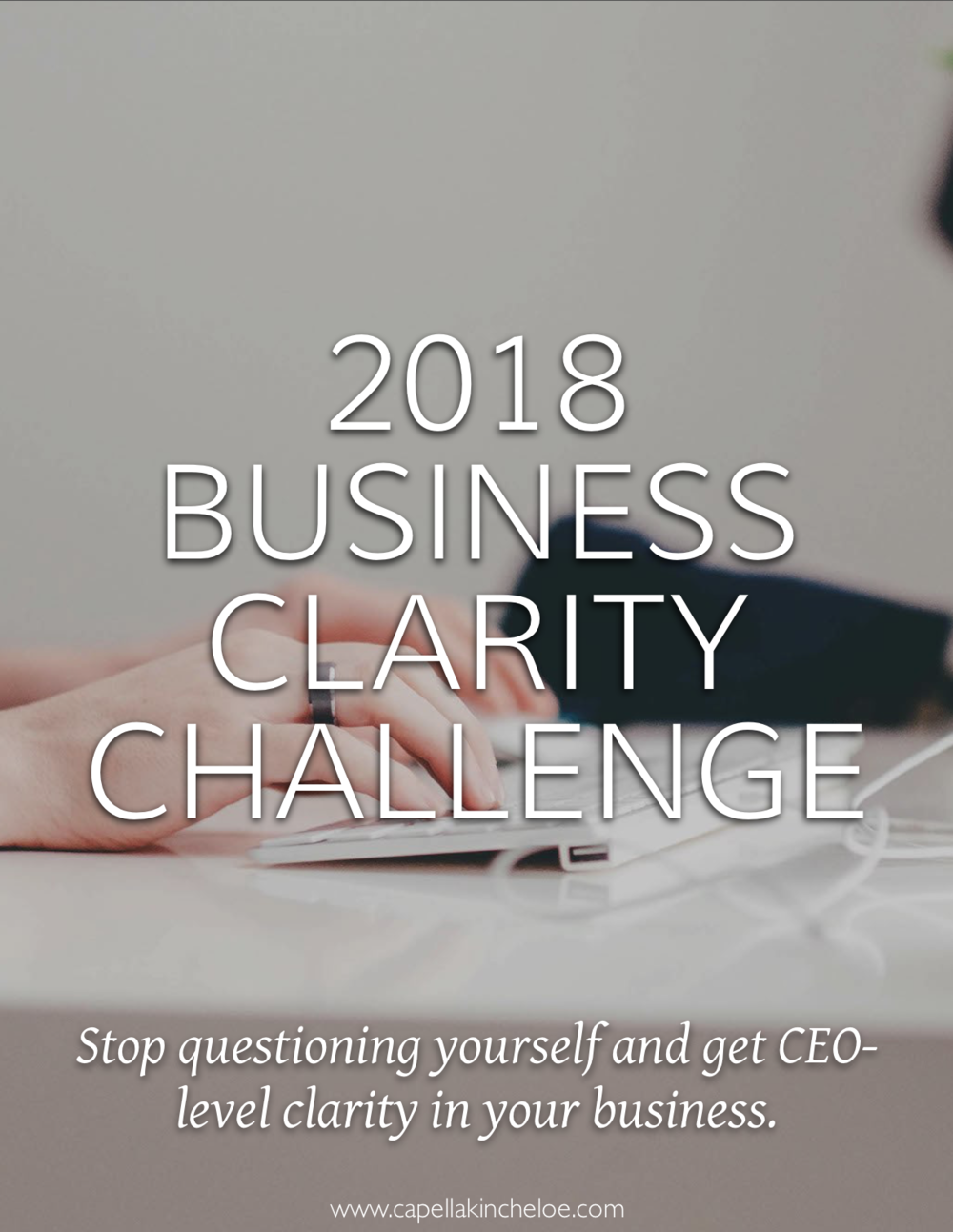 Stop questioning yourself in 2018. Get clear in your interior design business. Start acting like the CEO of your business.