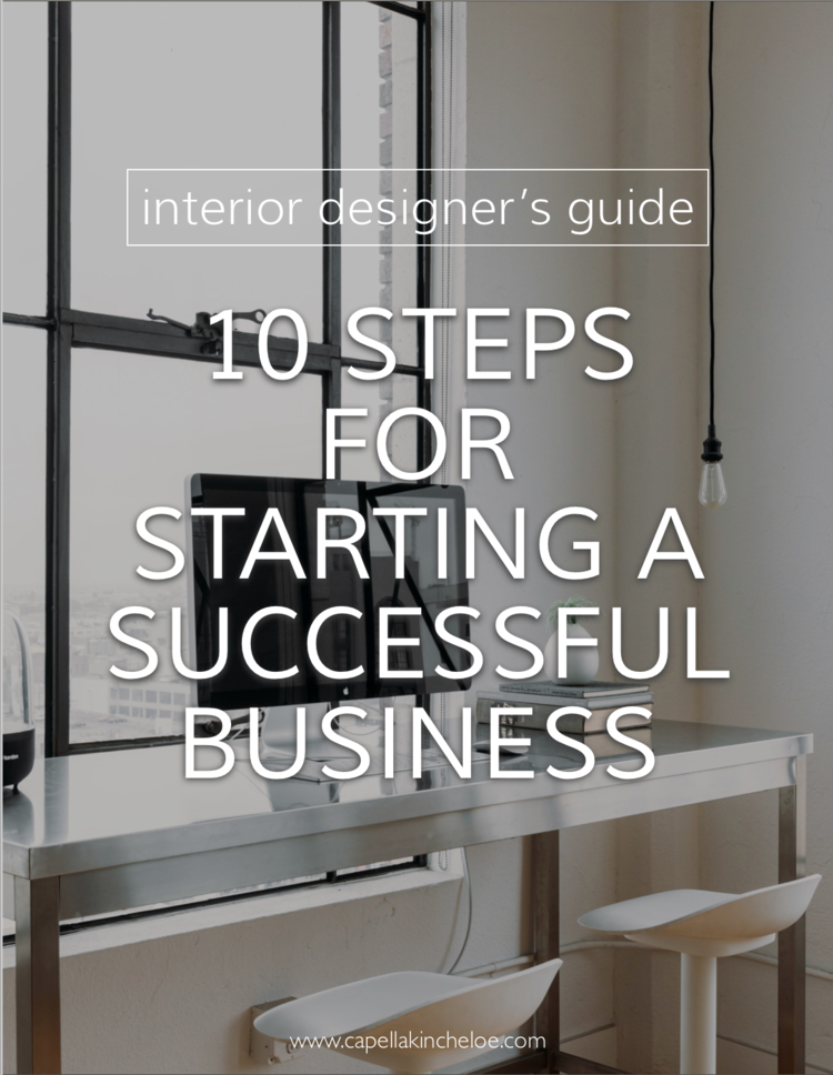 You can start a successful interior design business. Here are some  fundamentals to