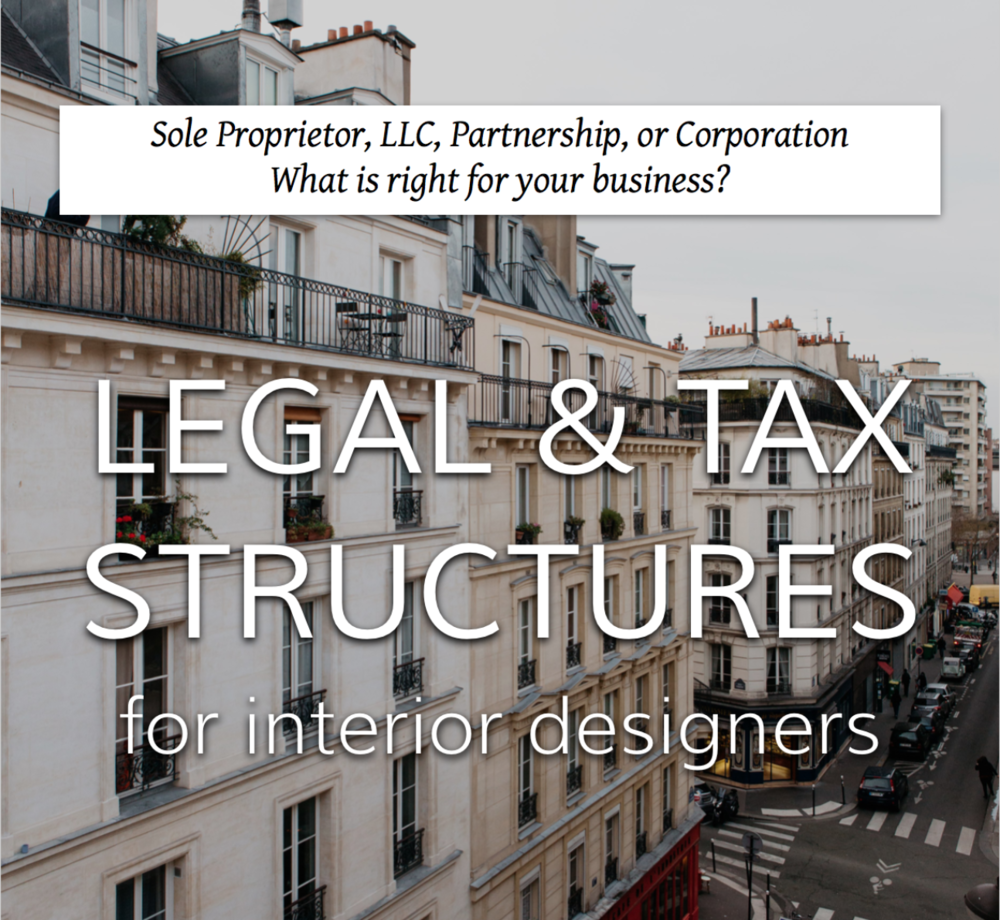 legal & tax structures for interior designers on Capella Kincheloe.jpg