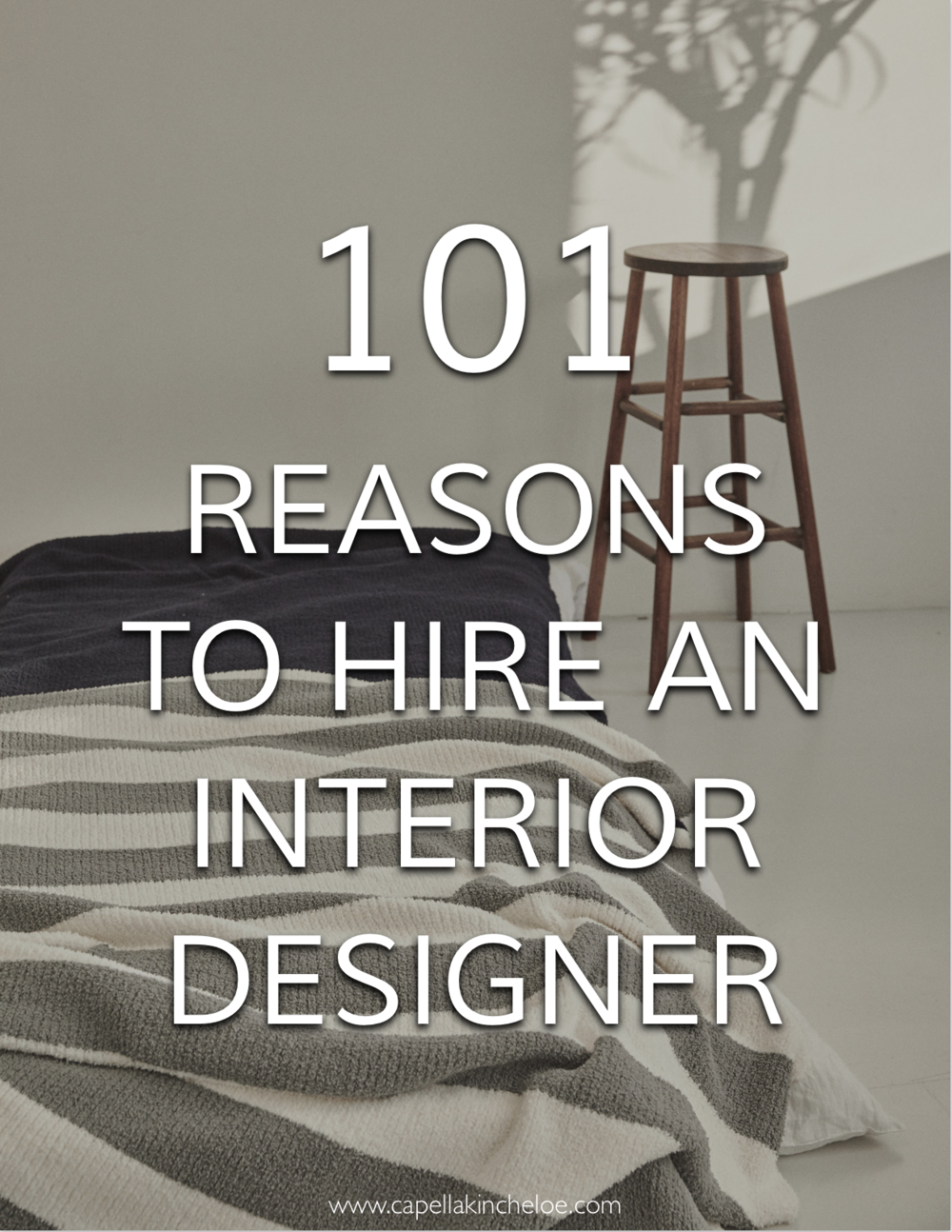 There are so many (101 of them!) Reasons to hire an interior designer or decorator.  #cktradesecrets #interiordesignbusiness