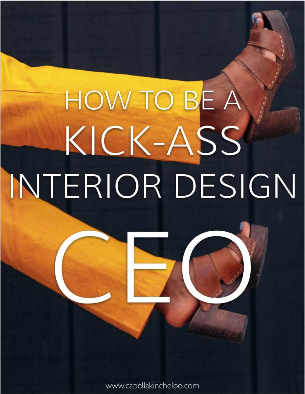 Running an interior design business?  Then you're the CEO!  Learn how to be the best one possible #interiordesignbusiness #cktradesecrets #interiordesignceo