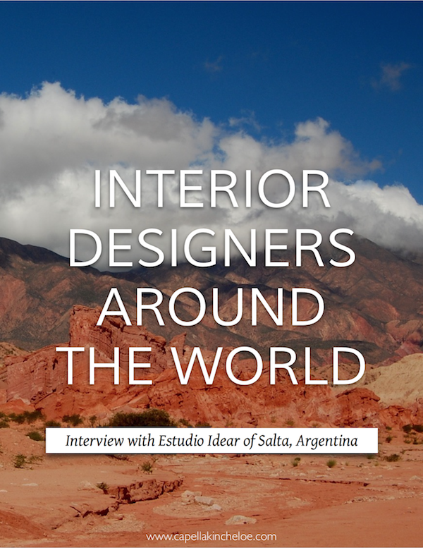 Learn more about what it's like to be an interior designer around the world.  #cktradesecrets #interiordesignbusiness #designersaroundtheworld